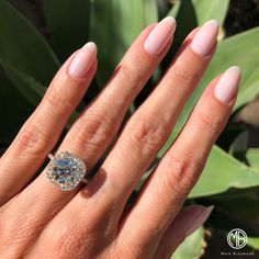 We offer wide variety of Diamond Anniversary Rings & Diamond Engagement Rings. Buy Diamond Engagement & Anniversary Rings to express your love. Stylish Nails, Trendy Nails, Sns Nails Colors, Stacked Wedding Bands, Elegant Nail Designs, Nail Art Pictures, Nail Ring, Accesorios Casual, Diamond Anniversary Rings