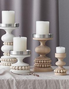 Candle Holders, Diy Candle Holders, Candle Holder Decor, White Candle Holders, Wooden Candle Holders, Rustic Candle Holders, Ceramic Candle, Candles, Agate Candle Holder