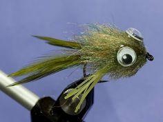 Fly tying - Frog fly - YouTube