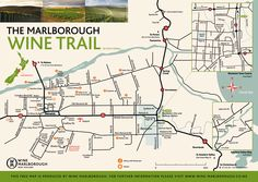 Hillsfield House / Wine Tours By Bike is located in the heart of Marlborough Wine Country in Renwick near Blenheim Marlborough Wine, Cloudy Bay, Free Maps, Trail Maps, New Zealand Travel, Sauvignon Blanc, Australia Travel, Wine Country, Places To Travel