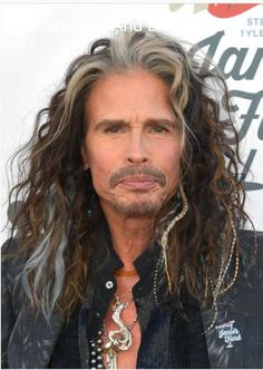 outside the Grammys Sunday Jan 2018 Steven Tyler Aerosmith, Joe Perry, Liv Tyler, Grey Hair, Held, Led Zeppelin, Rock Music, Beautiful Men, Handsome