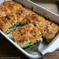 Börek mit Feta und Spinat