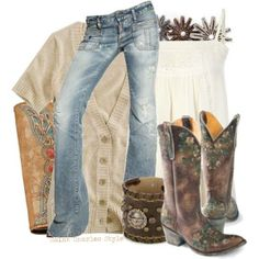 Old Gringo Boots - the styling options are limitless!