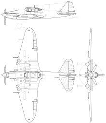 Ilyushin Il-2 Orthographic Projection