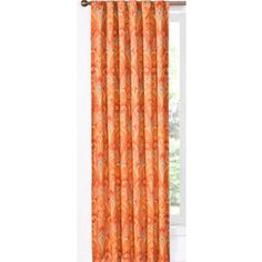 LOWES, OFFICE, Waverly�Waverly Home Classics 84-in L Ruby Back Tab Curtain Panel