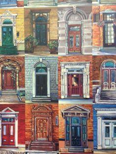 Doors of Saint John New Brunswick