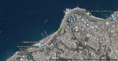 Mapa de Av. España, Región de Valparaíso