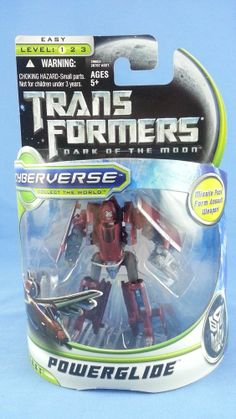 Transformers DOTM Cyberverse POWERGLIDE Commander MISB Movie