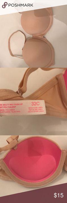 32c VS PUSH UP Worn once . Push up. 32 c PINK Victoria's Secret Intimates & Sleepwear Bras