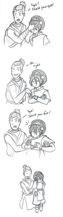 I remember this being one of the first pieces of ATLA fanart I fell in love with.