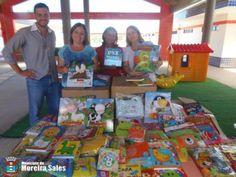 Super Creche recebe mais de 500 livros para a educação infantil