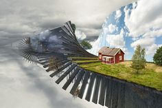 Erik Johansson is a Swedish artist who edits images to create beautifully peculiar collages. Photomontage, Lightroom, Erik Johansson, Photo Editing Tools, Foto Art, Salvador Dali, Surreal Art, Optical Illusions, Mind Blown
