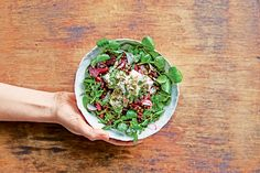 The recipe for this tasty Beetroot Labneh Dukkah Salad.