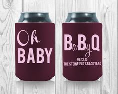 93 Best Baby Shower Koozies Images Our Baby Baby Shower Gifts