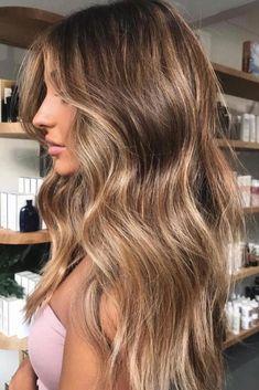 Brown Hair Balayage, Brown Blonde Hair, Balayage Brunette, Brunette Hair, Light Brown Hair, Bronde Balayage, Long Brunette, Bronde Haircolor, Kinky Hair