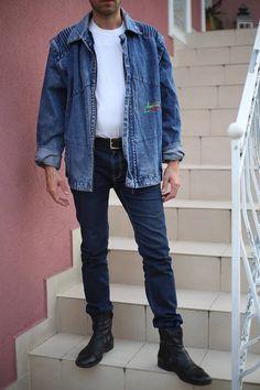 Check out this item in my Etsy shop https://www.etsy.com/listing/544632340/vtg-man-oversize-denim-jacket-vintage