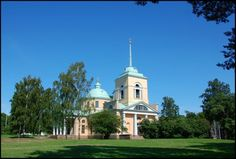 The Orthodox Church in Kotka, Finland Grave Monuments, Church History, Graveyards, Finland, Mansions, House Styles, Places, Travel, Viajes