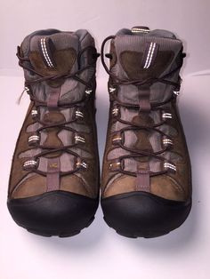 Keen Womens Leather Hiking Walking trail Mid Boots Sz 8.5 waterproof  Keen   WalkingHikingTrail. DISCOUNT DEPOT WORLD 0b74368b0