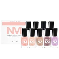 $35, zoya.comIdeal for everyday wear, Zoya's Naked Manicure kit features six basic lacquers that are... - Provided by Hearst Communications, Inc
