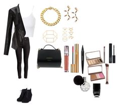 """Untitled #508"" by minadinamike on Polyvore featuring Topshop, Miss Selfridge, Michael Kors, Repossi, Forever 21, Givenchy, Urban Decay, Yves Saint Laurent, Guerlain and NARS Cosmetics"