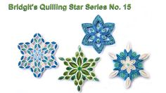 Bridgit's Quilling Star Series No. 15 (Tutorial) - YouTube
