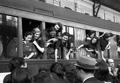 Madrid 1941 -división azul- enfermeras   por ander1792
