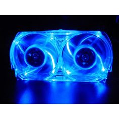 Talismoon Whisper Fan for Xbox 360, in Blue - http://www.lowpricecables.com/video-game-cables/talismoon-whisper-fan-for-xbox-360-in-blue/