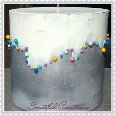 Hand painted acrylics and candles on pinterest for Can you paint candles with acrylic paint