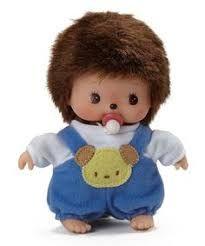 Image result for monchichi dolls beaded