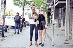 Blogue mode de rue | Mode de rue Clindoeil.ca Les plus beau looks de la rue