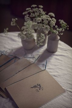The order of service for our rustic country wedding | The Natural Wedding Company