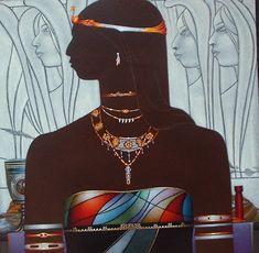 "Anacaona"" | Haitian art | by Emilcar Similien | Anacaona | Pinterest"