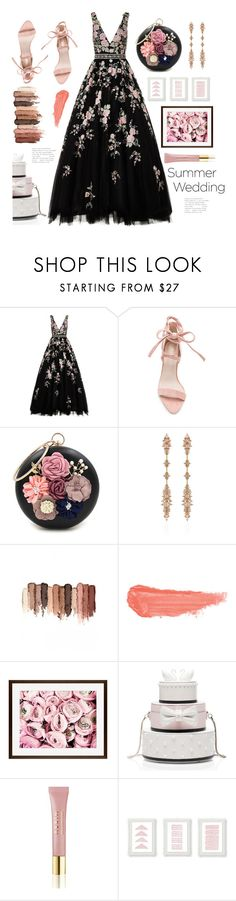 """Bridesmaid"" by j4wahir ❤ liked on Polyvore featuring Jovani, WithChic, Fernando Jorge, tarte, By Terry, Pottery Barn, Kate Spade and AERIN"