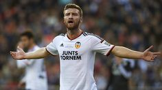 Shkodran Mustafi was released by Everton but is now well established at Valencia