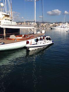 Hydromax 10.5 in Mallorca with SY Gaia