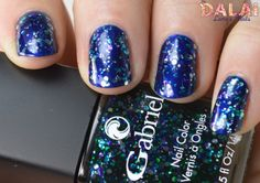 Brooke Anderson for Gabriel Cosmetics: Blue Belle and Darlin' | The Dalai Lama's Nails