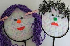 Badmitnon Racquet Puppets - Other puppet ideas.