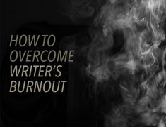 Are you struggling with writer's block, or are you experiencing burnout? These five steps will help you overcome burnout and love to write again. Writing Advice, Writing Resources, Writing Help, Writing A Book, Writing Prompts, I Am A Writer, Book Writer, A Writer's Life, Writer's Block