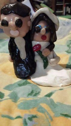 Wedding Cake Topper by suntimeshop on Etsy