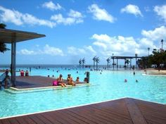 #Cairns #Esplanade Swimming Lagoon: Beautiful seaside lagoon  - Cairns, #Australia http://www.tripadvisor.com.au/ShowForum-g255067-i460-Queensland.html