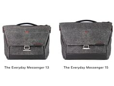 """Peak Design has launched a lighter and more compact version of its Everyday Messenger bag designed to hold a 13"""" laptop. Read more"""