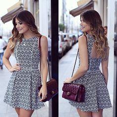 {Classy} Vestido @luxiclovers preto e branco que a gente ama! ❤️ • #lançamentoluxic #verao16 #blogtrendalert