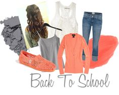 """""""Back to School"""" by taylorl1997 on Polyvore"""