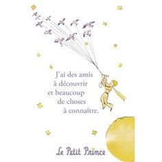 Carte postale Le Petit Prince - J'ai des amis à découvrir … 1 Little Prince Tattoo, The Little Prince, Petit Prince Quotes, Le Vent Se Leve, St Exupery, Prince Tattoos, Magic Quotes, Look At The Sky, French Quotes