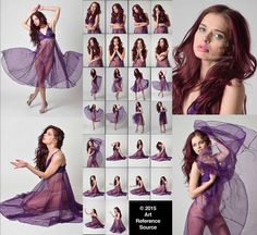 Here's another wonderful set of April in a flowing, sheer purple dress. The set is a combination of elegant and expressive full length poses along. Stock: Expressive Photos of April in Purple Dress Female Pose Reference, Pose Reference Photo, Figure Drawing Reference, Body Reference, Art Reference Poses, Art Poses, Drawing Poses, Poses Modelo, Figure Poses