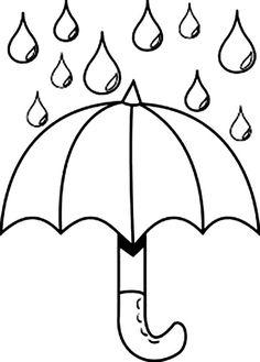 regenschirm bild - fensterbilder zum ausmalen … | regenschirm kunst, regenschirm, ausmalen
