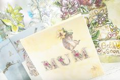 Stunning cards great for #Easter, #MothersDay and as general #GreetingCards made from the Serif Wildflower Hollow CD ROM. Available to buy here - http://www.createandcraft.tv/Serif_Wildflower_Hollow_Digikit_Collection_Double_CD_ROM-338057.aspx?fh_location=//CreateAndCraft/en_GB/$s=serif #papercraft #cardmaking