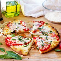 Margherita Pita Pizza -
