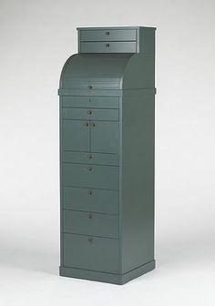 ALDO ROSSI    Carteggio cabinet    Molteni & Co.  Italy, 1987  lacquered wood  18 w x 17.5 d x 63 h inches