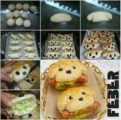 Puppy sandwich................